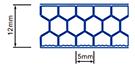 Multi-wall polycarbonate sheet 11