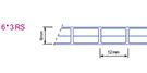 Multi-wall polycarbonate sheet 1