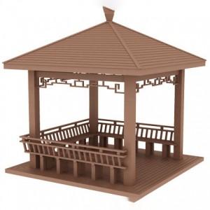 Pavilion WPC Gazebo