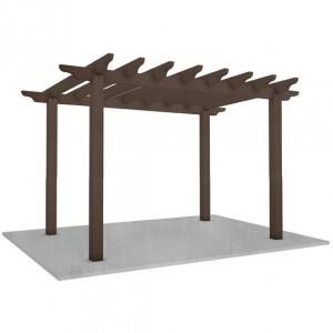 WPC Pergola Plastic Wood Pergola