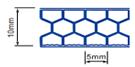 Multi-wall polycarbonate sheet 10