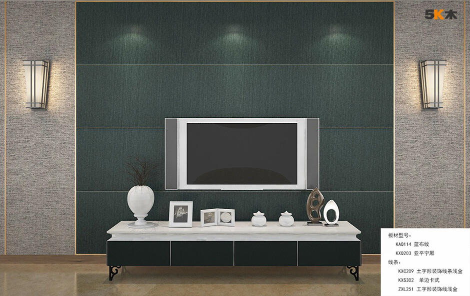PVC wall panels in free-style DIY  2