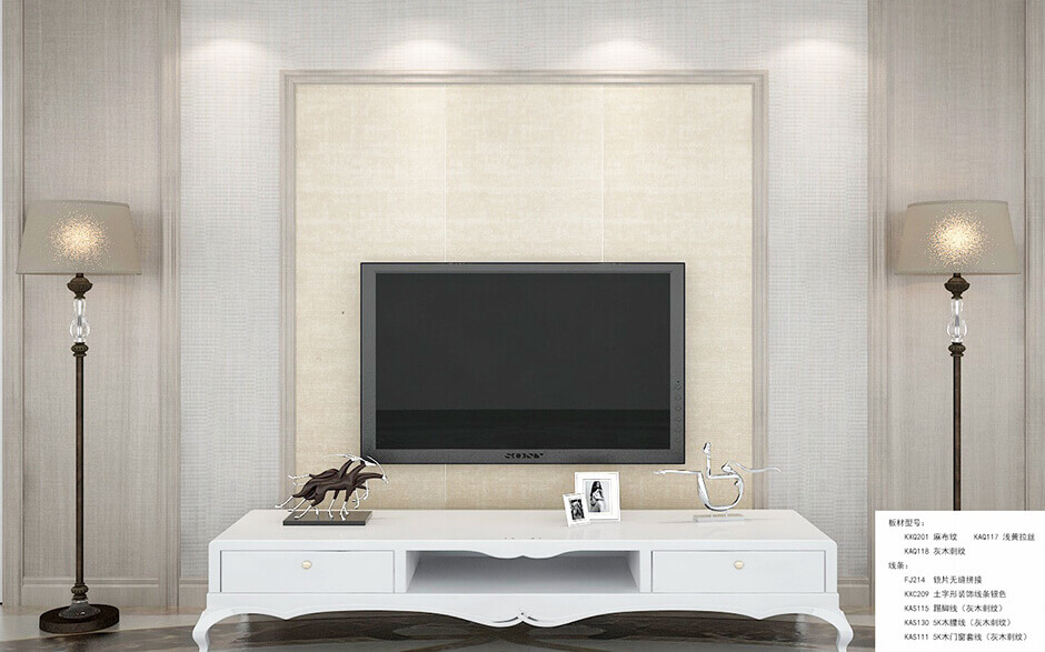 PVC odi paneli ni free-ara DIY 1