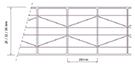 Multi-wall polycarbonate sheet 118