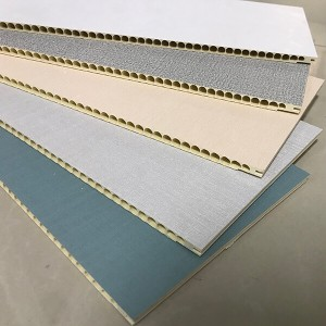 PVC wall panels in free-style DIY