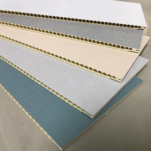PVC odi paneli ni free-ara DIY ifihan Image