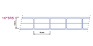 Multi-wall polycarbonate sheet 15